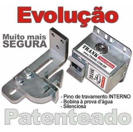 Cadeado Elétrico P/ Portão Automático De Garagem Trank B10