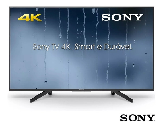 Smart Tv Led 49 Ultra Hd 4k Sony Kd49x705f 3 Hdmi 3 Usb Wifi