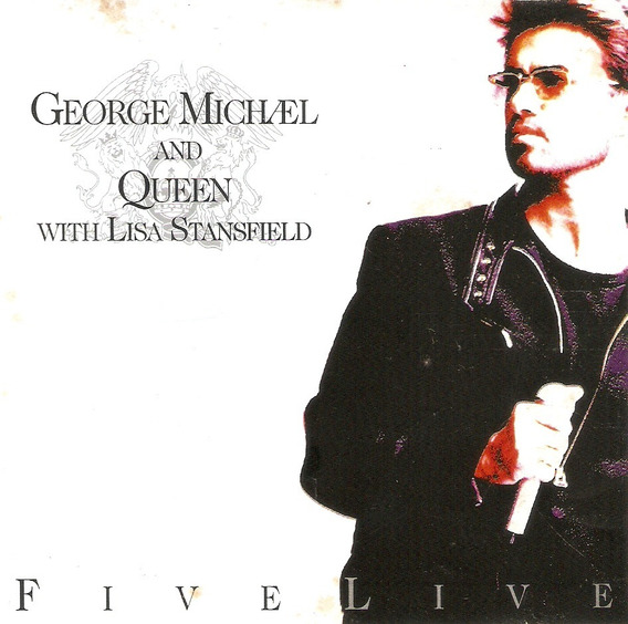 Cd George Michael And Queen - Five Live - Semi Novo***