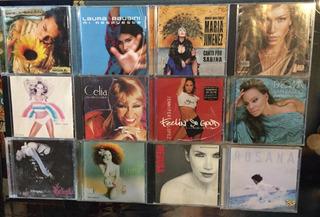 Lote Cds Latino Pop Tango Y Mas Musica Alboradas