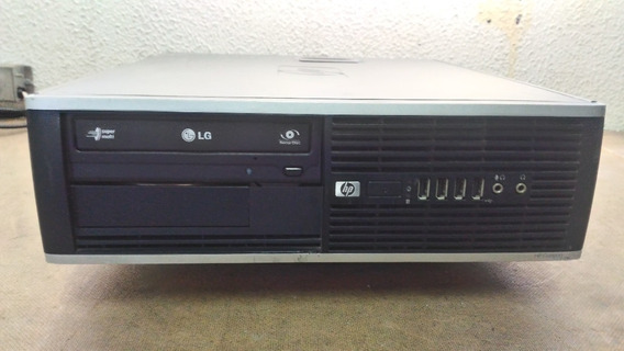 Cpu Hp Modelo Compaq 6000 Pro Small Factor - Hd 160 Gb