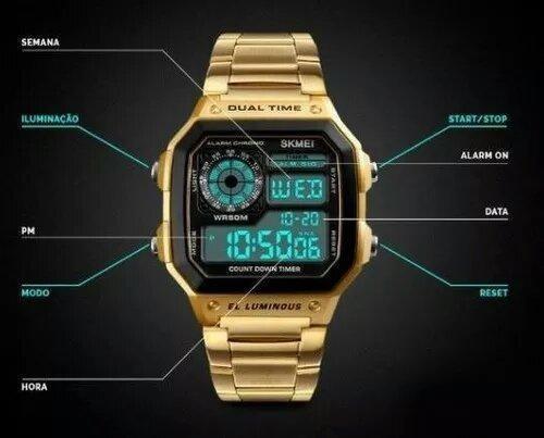 Relógio Digital Skmei 1335 A Prova D