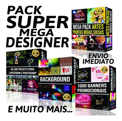 Pacote Mais Completo Artes Designer Photoshop Coreldraw