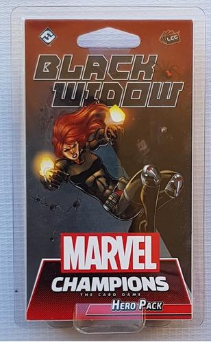 Marvel Champions Card Game Black Widow Hero Pack Nuevo !!!