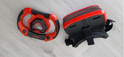 Simulador De Realidad Virtual 3d Real Feel Lentes Vr Racing