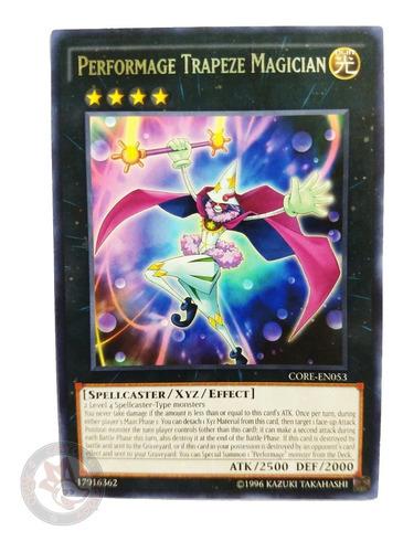 Imagen 1 de 1 de Yugi-oh! Performage Trapeze Magician Core-en053 Rare