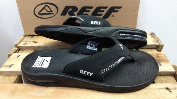 Chinelo Masculino Reef Fanning Com Amortecedor Moda Surf