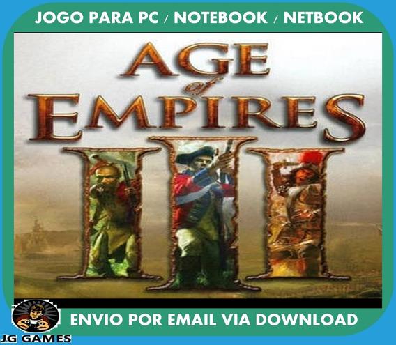 Age Of Empires 3 Pc Jogo Digital