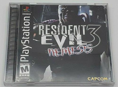 Resident Evil 3: Nemesis Original Psx Ps1 Ps2 Ps3 Negociable