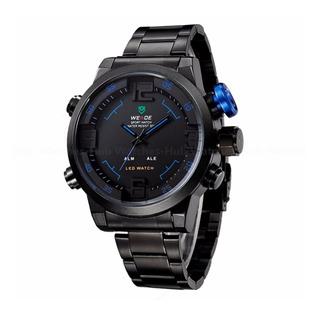 Reloj 3d Doble Mov Unico Water Proof Fecha V. Func Calidad