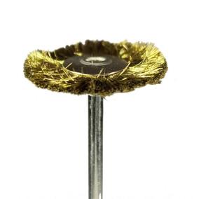 Escova De Aço Dourada - American Burrs