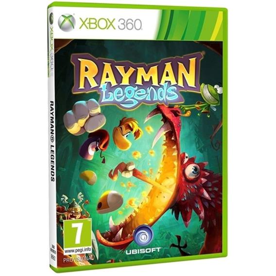 Rayman Legends Xbox 360 Mídia Física Original Novo Nacional