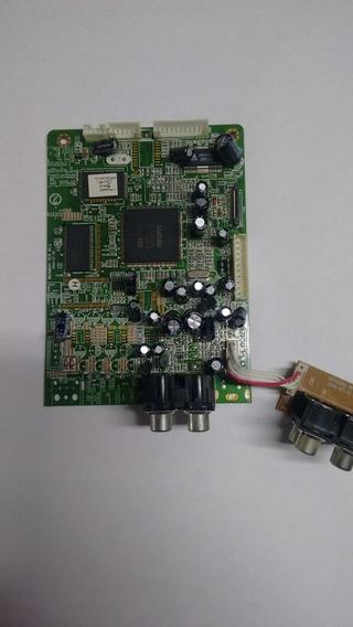 Placa Principal Controle Dvd Semp Sd7050s