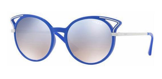 Lentes Vogue Solar Azul Dama Moda Original