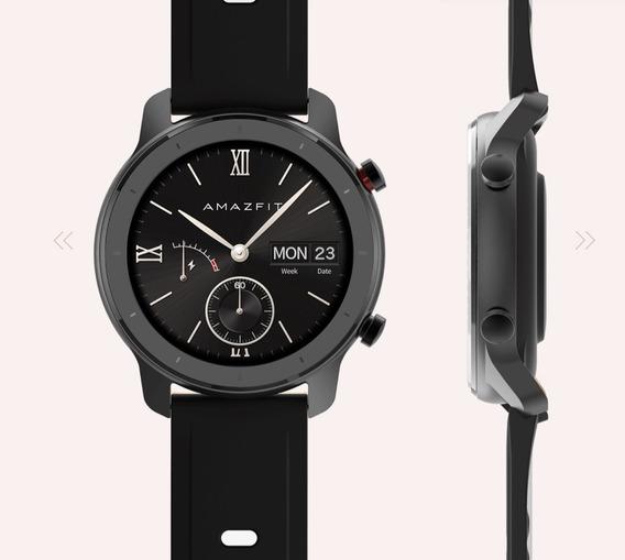 Relógio Amazfit Gtr Preto 42 Mm Novo Na Caixa Pronta Entrega