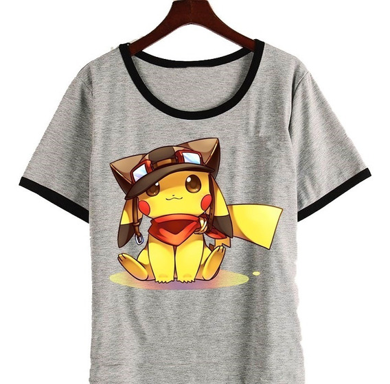 Remera Pikachu Pokemon Anime Kawaii 3