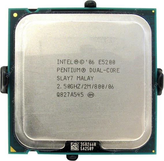 Processador Intel Dual Core E5200 2.5ghz/2mb/800 + Cooler