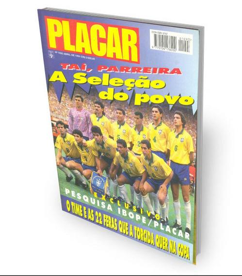 Revista Placar 1093 Seleção 1994 Romário Bebeto