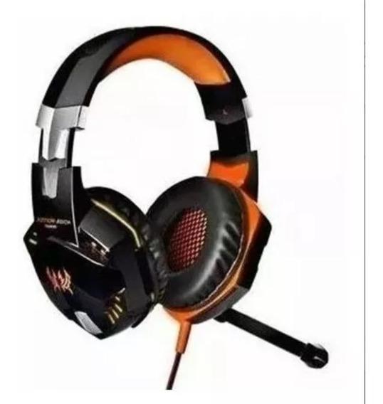 Audifono Diadema Gamer Kotion Each G2000 Usb Microfono Led