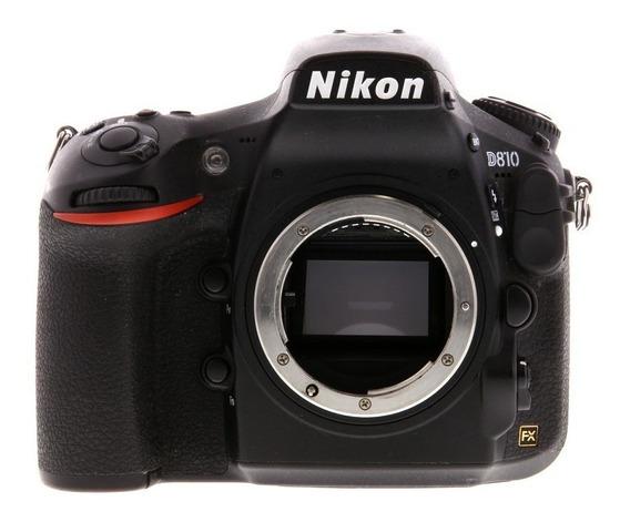 Nikon D810 Body - Garantia 12 Meses