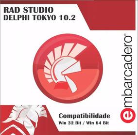 Rad Studio Delphi 10.2 Tokyo 6 Componentes Envio Rápido