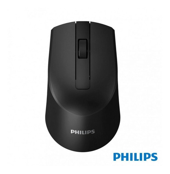 Mouse Óptico Philips Sem Fio1600dpi Wireless