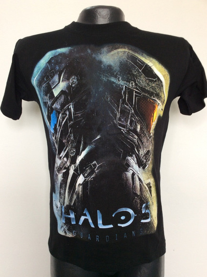 Camiseta Halo 5 Guardians Videojuego Rock Metal Anime Salsa
