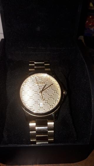Reloj Unisex Gucci G-timeless Ya126461 Dorado