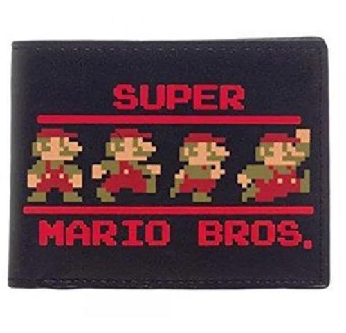 Original Billetera Nintendo Super Mario Bros Superheroes
