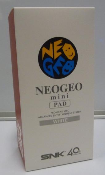 Controle Neo Geo Mini Pad Branco Novo + Garantia