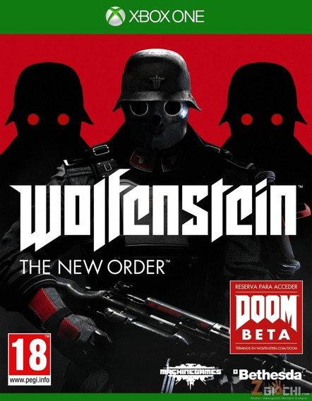Wolfenstein Xbox One - Mídia Física Pronta Entrega