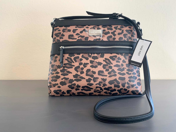Nine West Bandolera Leopardo