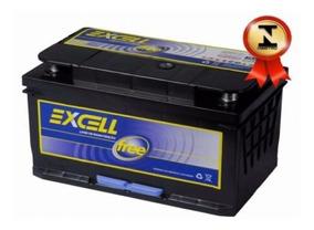 Bateria Carro Excell Free 60ah 1 Ano Frete Grátis Todo Rs