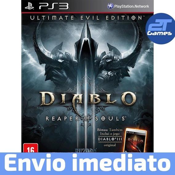 Diablo 3 Reaper Of Souls Ps3 Digital Pronta Entrega!