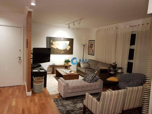 Apartamento Com 4 Dormitórios À Venda, 156 M² Por R$ 1.300.000,00 - Morumbi - São Paulo/sp - Ap7786