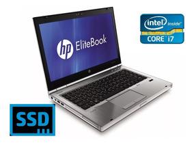 Notebook Intel I7-2620m, 4gb, Ssd 240gb / Dvd Hp 8460p