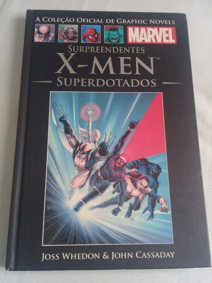 X-men Superdotados Graphic Novels Marvel Nº36 Salvat