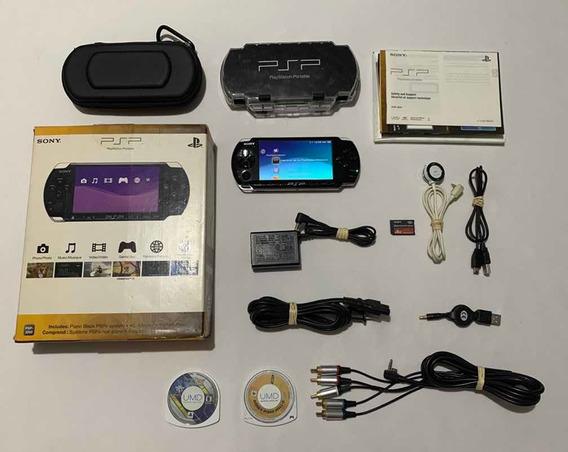 Psp 3001 Slim Zerado 8 Gb Jogos Sony Playstation Game Top