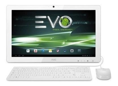 All In One Aoc Evo Dual Core 1gb Ram, 8gb Tela Led 19.5´ Wid
