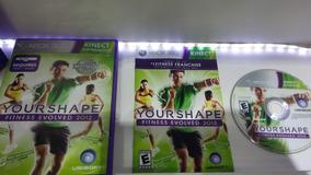 Kinect Your Shape Fitness Evolve 2 Xbox 360 Original Tiro