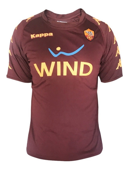 Playera Jersey Futbol As Roma Asr Hombre Kappa Full Je-400