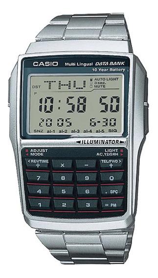 Relógio Casio Data Bank Unissex Dbc-32d-1adf
