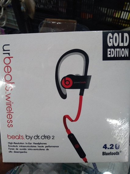 Fone Bluetooth Urbeats Wireless By Dr.dre Gold Edition 4.2