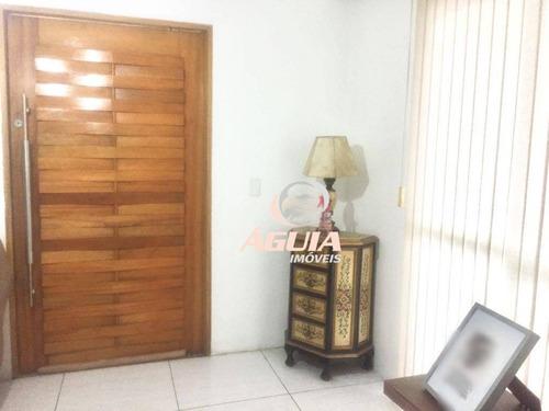 Imagem 1 de 18 de Sobrado Com 3 Dormitórios À Venda, 190 M² Por R$ 800.000,00 - Paraíso - Santo André/sp - So1409