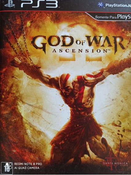 God Of War Ascension Ps3 Original , A Pronta Entrega