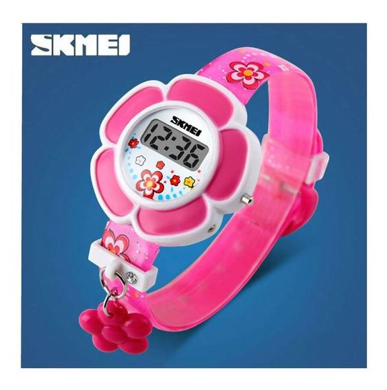 Relógio De Pulso Led Digital Menina Criança Infantil 138