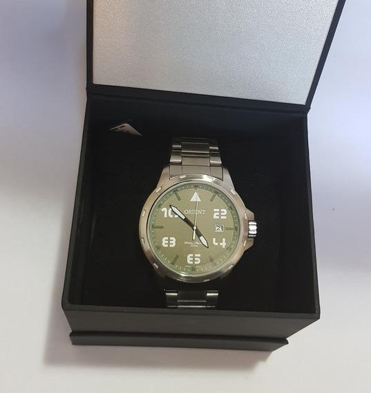 Relógio Orient Masculino Militar Mbss1195a E2sx