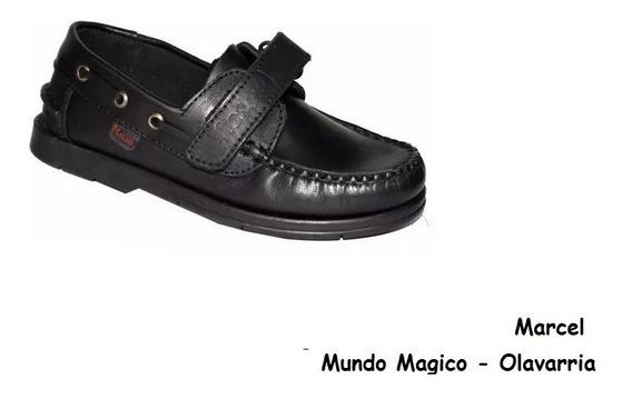 Zapatos Náuticos Colegial - Marcel - Art.501 - 27 Al 40