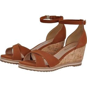 b13e377fa8 Tamanco Baixo Anabela Em Cortiça Sapatos Femininos Sandalias ...