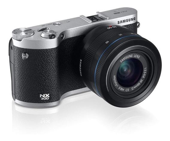 Smart Câmera Samsung Nx300 + Acessórios Uteis Pra Trabalhar